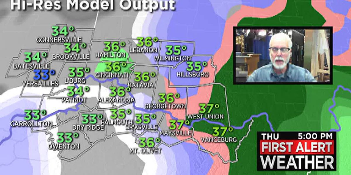 Snowstorm to hit Tri-State Thursday evening