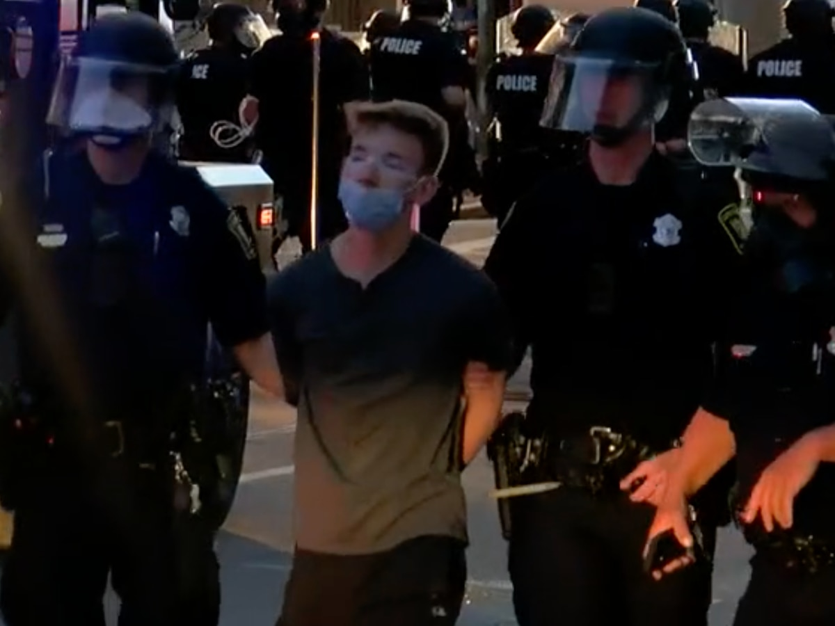 More than 200 arrested during weekend protests, curfew violations