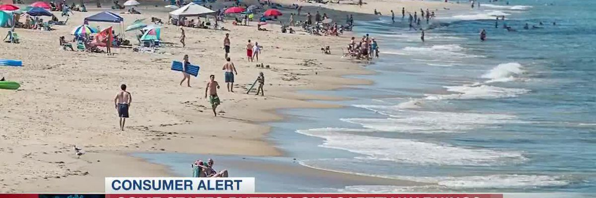 Some states putting out safety warnings as people travel for holiday weekend