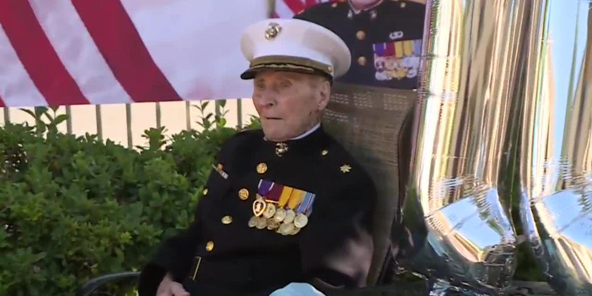 Oldest living Marine turns 105