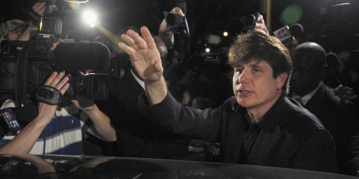 Blagojevich praises Trump from Chicago home after release