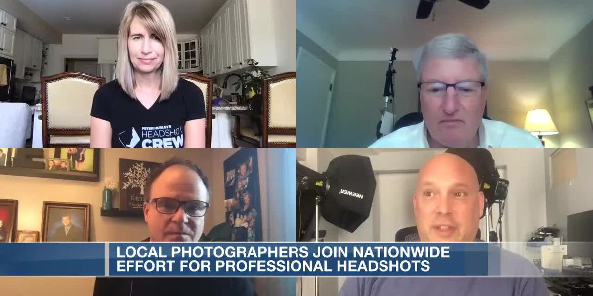 Local photographers join nationwide effort for professional headshots