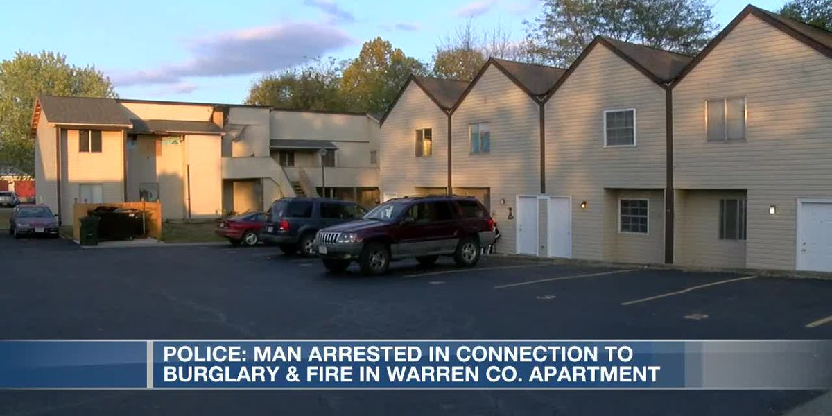 Police: Man arrested in connection to burglary, fire