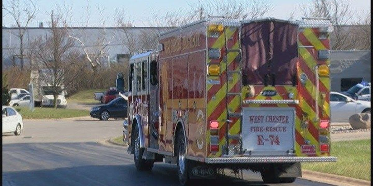 All-clear given after fire at chemical company