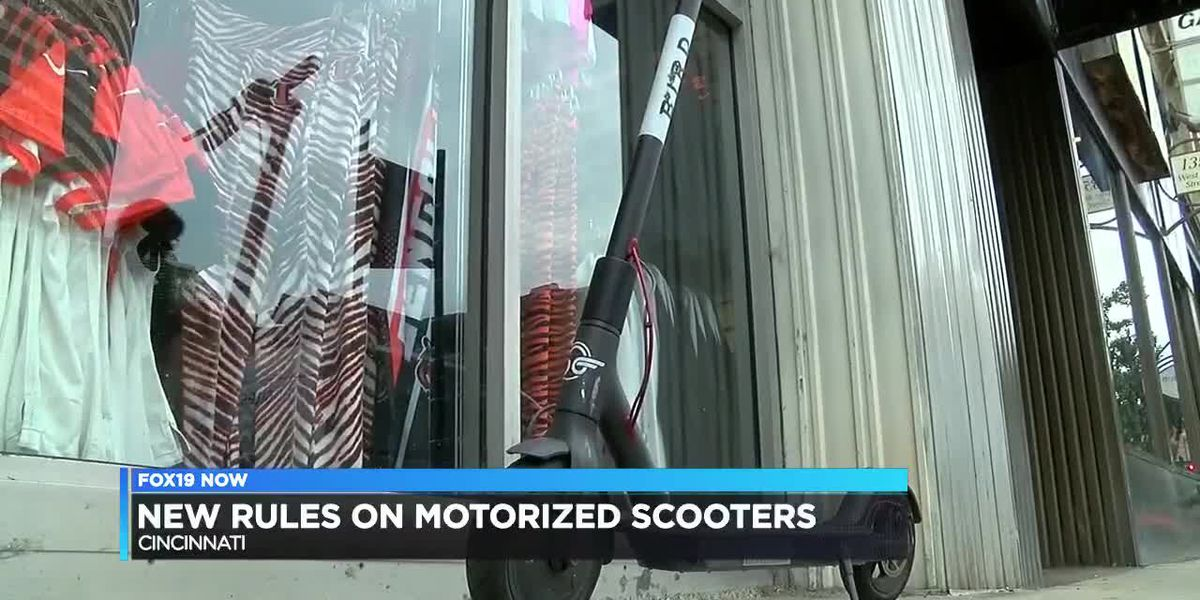New rules for motorized scooters