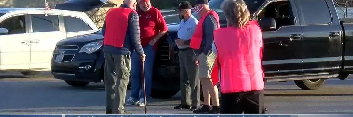 Honor Flight Tri-State, City of Florence host in-car veterans parade