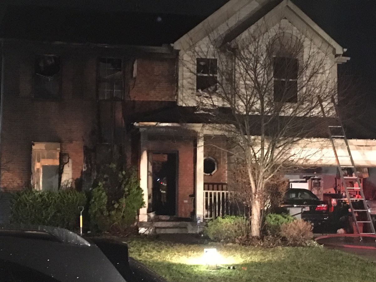 3 survive Springfield Twp house fire; dog killed in blaze