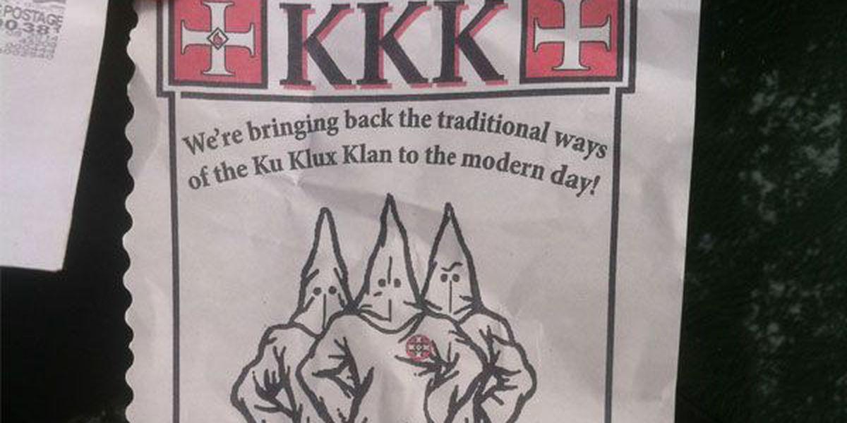 KKK flyers passed out in Hamilton neighborhood