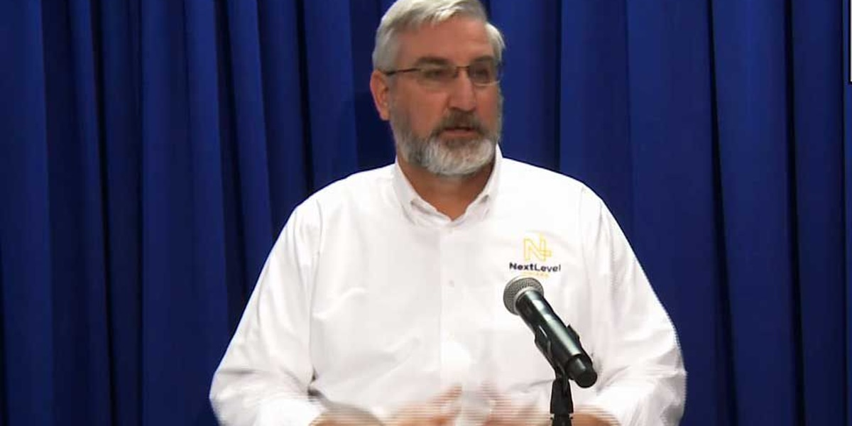 LIVE: Gov. Holcomb updates ongoing COVID-19 vaccine rollout