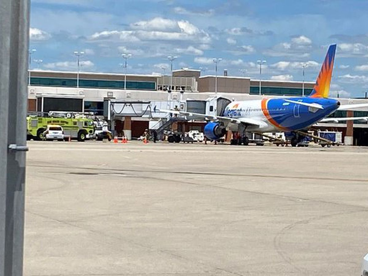Flight from CVG makes emergency landing in Lexington