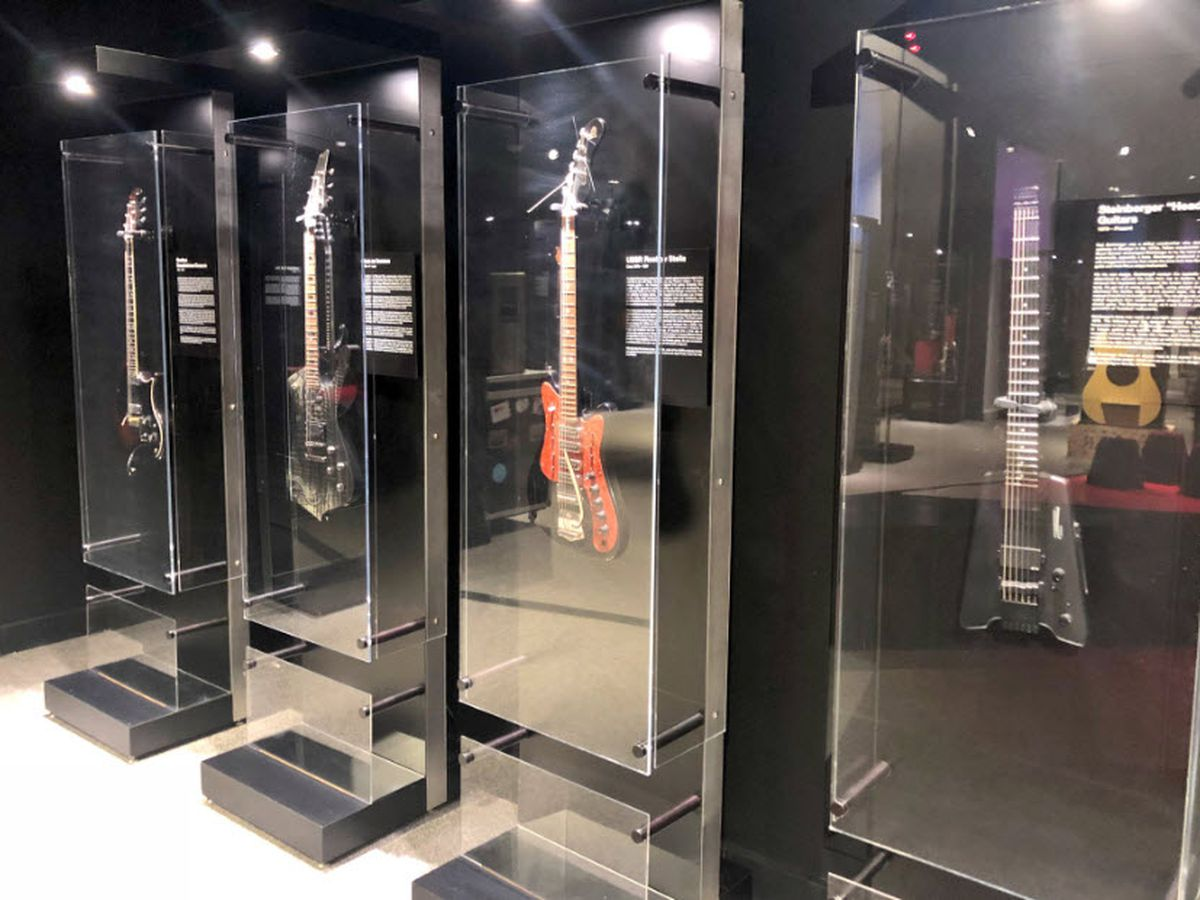 Guitar exhibit opens Friday at Cincinnati Museum Center