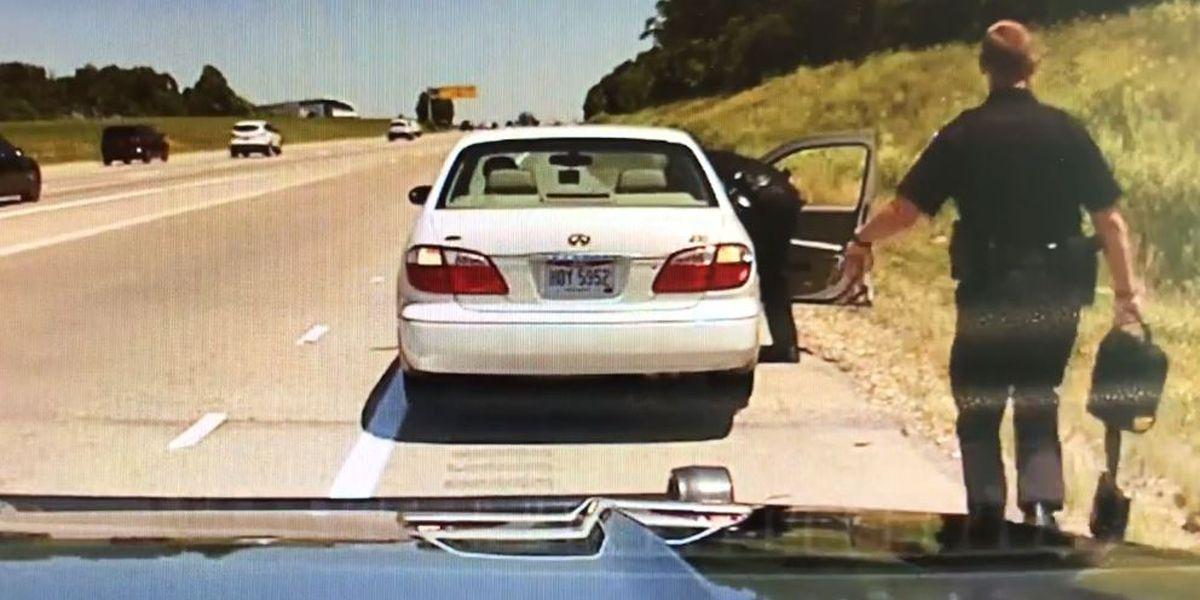 Springboro police officers help save man's life on I-75