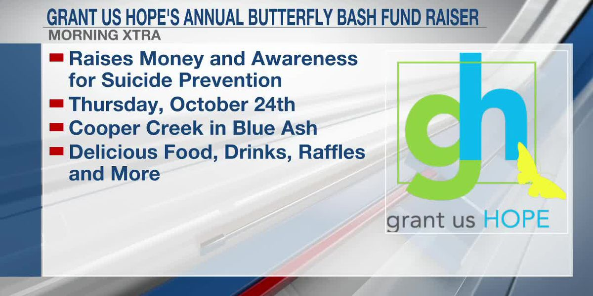FOX19 9am Xtra - VOD - Grant Us Hope's Annual Butterfly Fund Raiser