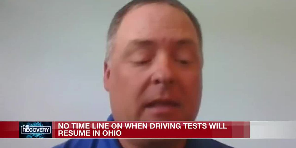 No timeline on when driving tests will resume in Ohio