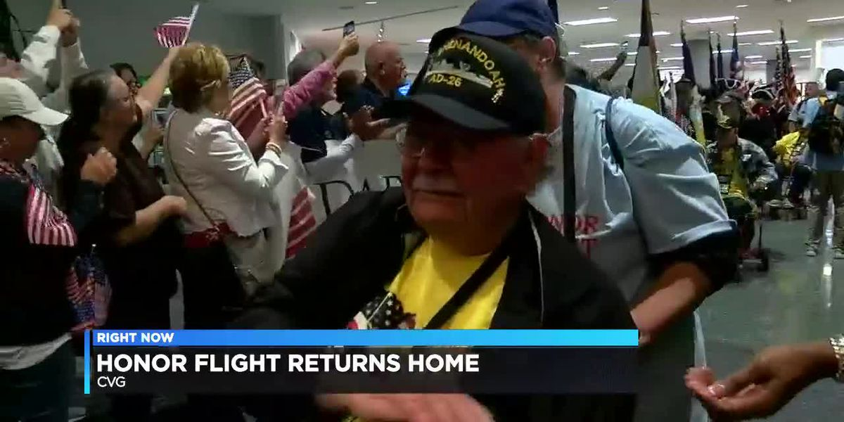 Honor flight returns home