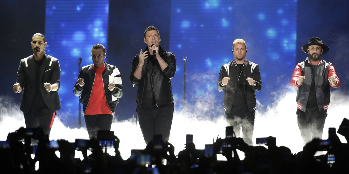 Backstreet Boys taking the stage in OH, KY and IN