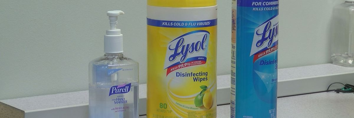Cleaning, disinfecting to avoid COVID-19