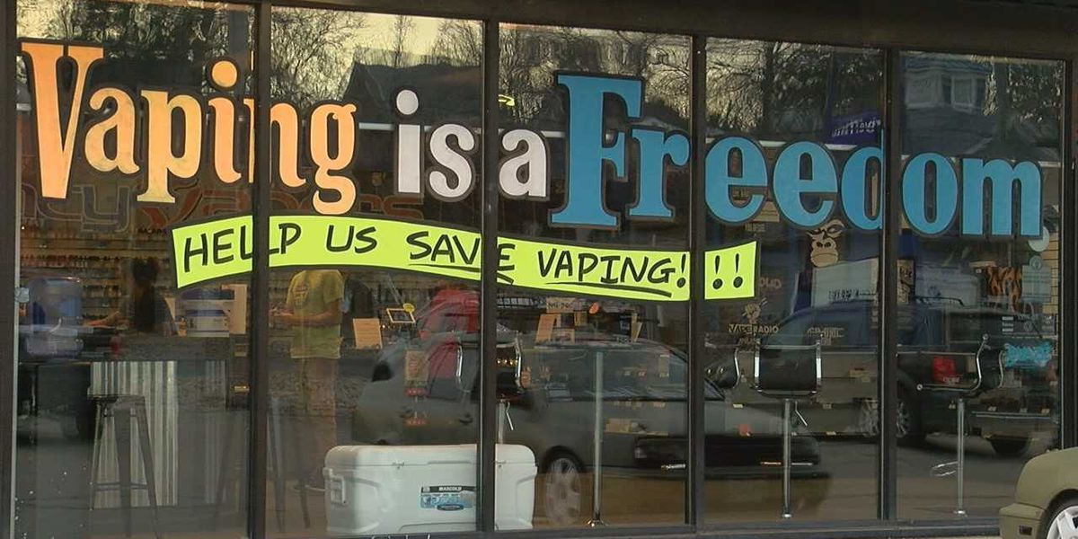 Vape shops worried as FDA moves to restrict flavored e-cig sales