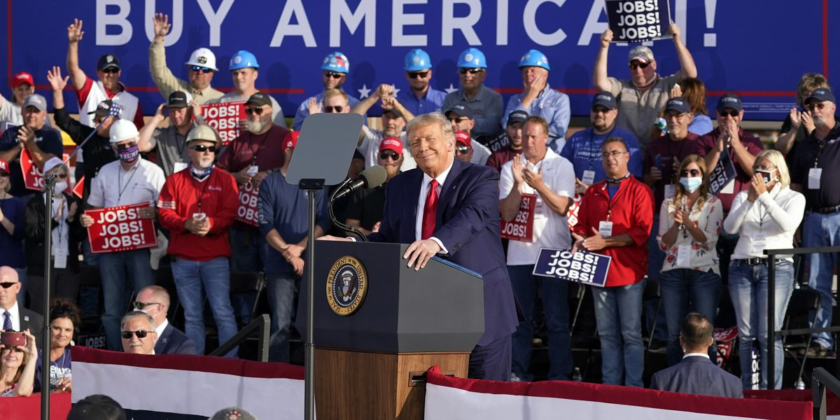President Trump speaks at 'Fighting for the American Worker' Ohio events