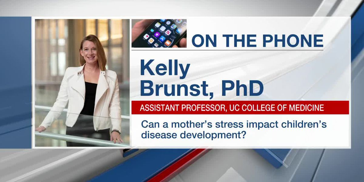 Can a pregnant mother's stress impact her child's health?