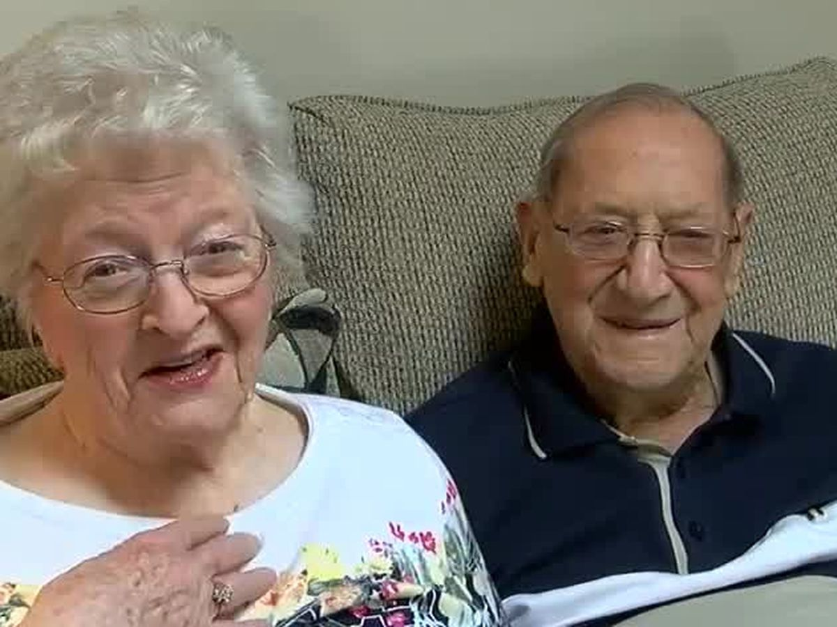 Amelia couple remembers 'love at first sight' on 77th marriage anniversary