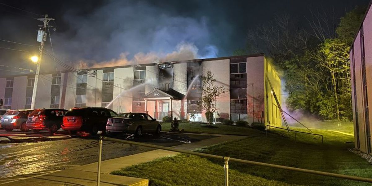 More than 70 displaced after NKY apartment fire