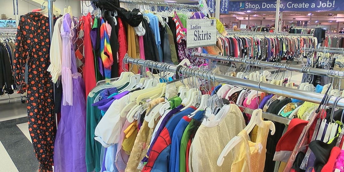 No Halloween costume? Why Goodwill could be your best bet