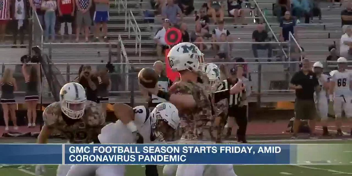 GMC football season starts Friday amid pandemic