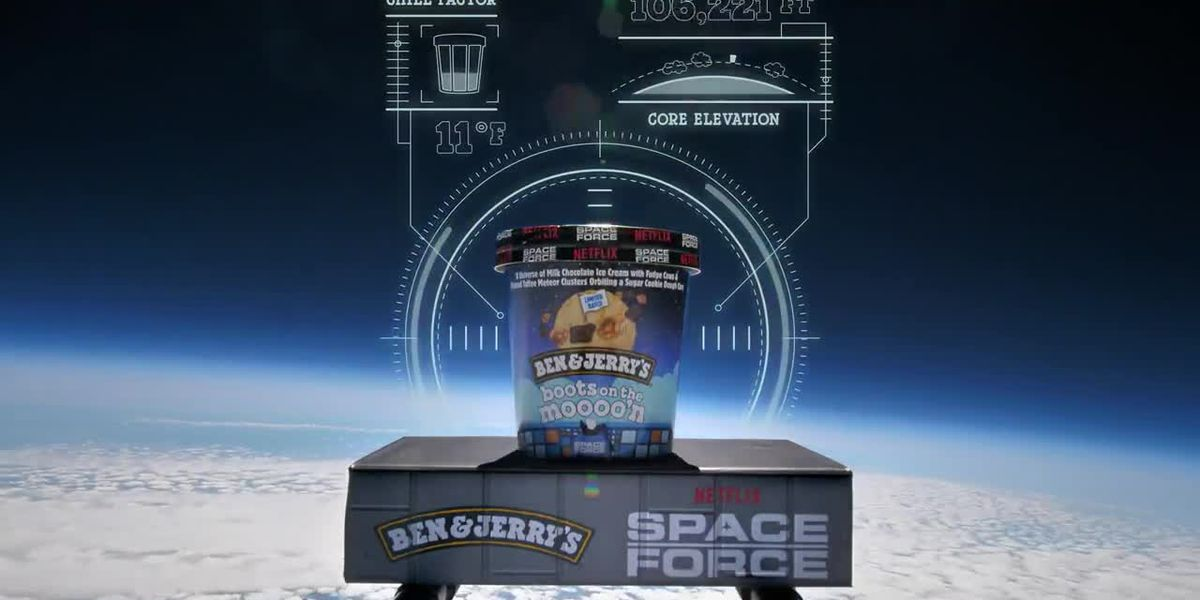 Ben & Jerry's launches space-themed ice cream