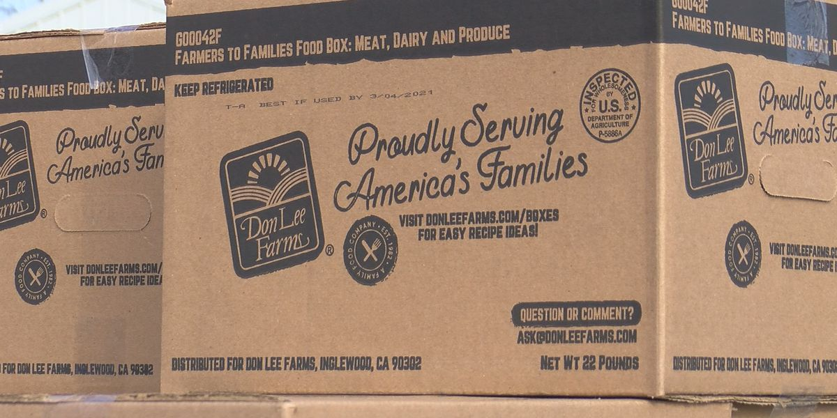 Farmers to Families Food Box program comes to Erlanger