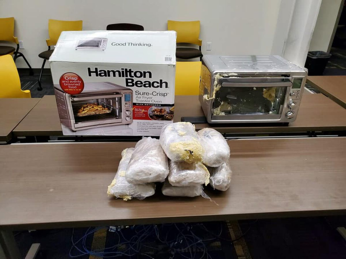 Police find more than $100,000 of meth in air fryer shipping to south Louisville