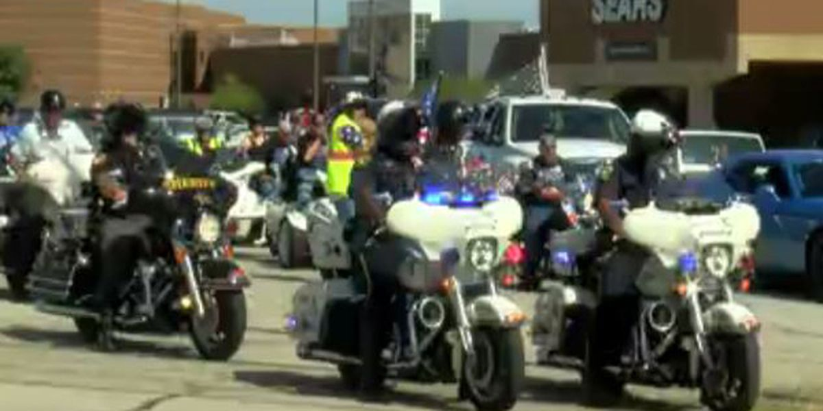Fallen heroes honored during 9/11 memorial ride and drive
