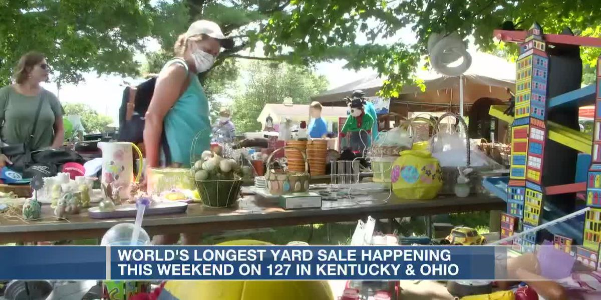 World's longest yard sale happening this weekend in Kentucky, Ohio