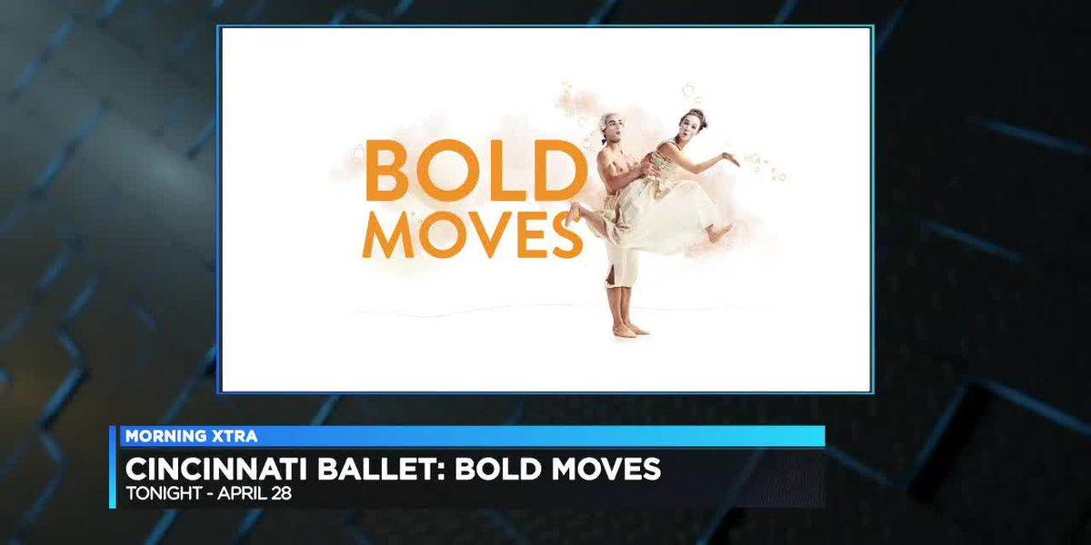 "Cincinnati Ballet: ""Bold Moves"""