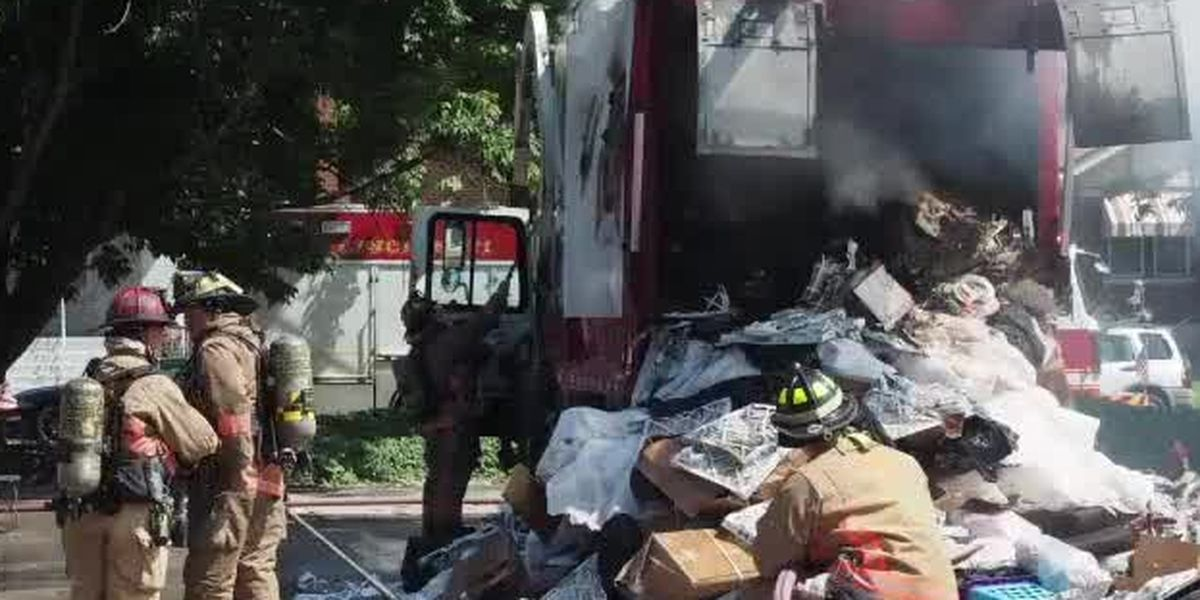 Rash of Rumpke truck fires prompts warning about what shouldn't be in your trash