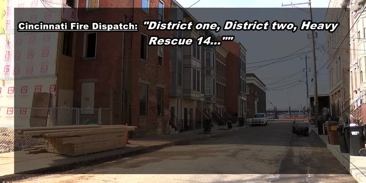 Firefighter injured in fall in OTR building