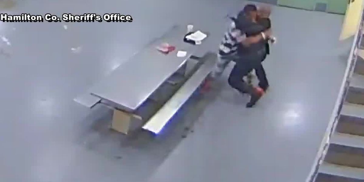 WATCH: Jailhouse video shows altercation between deputy, inmate