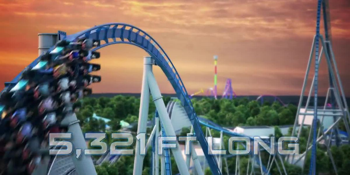 Kings Island unveils its new giga coaster Orion for spring of 2020