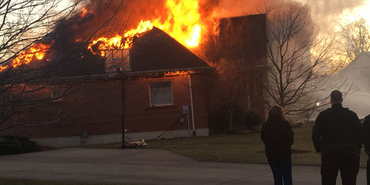 Oxford family survives fire, with help from neighbor