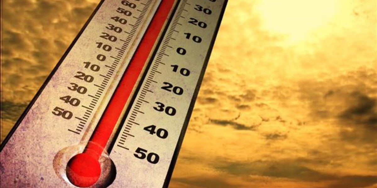 Record heat again Monday