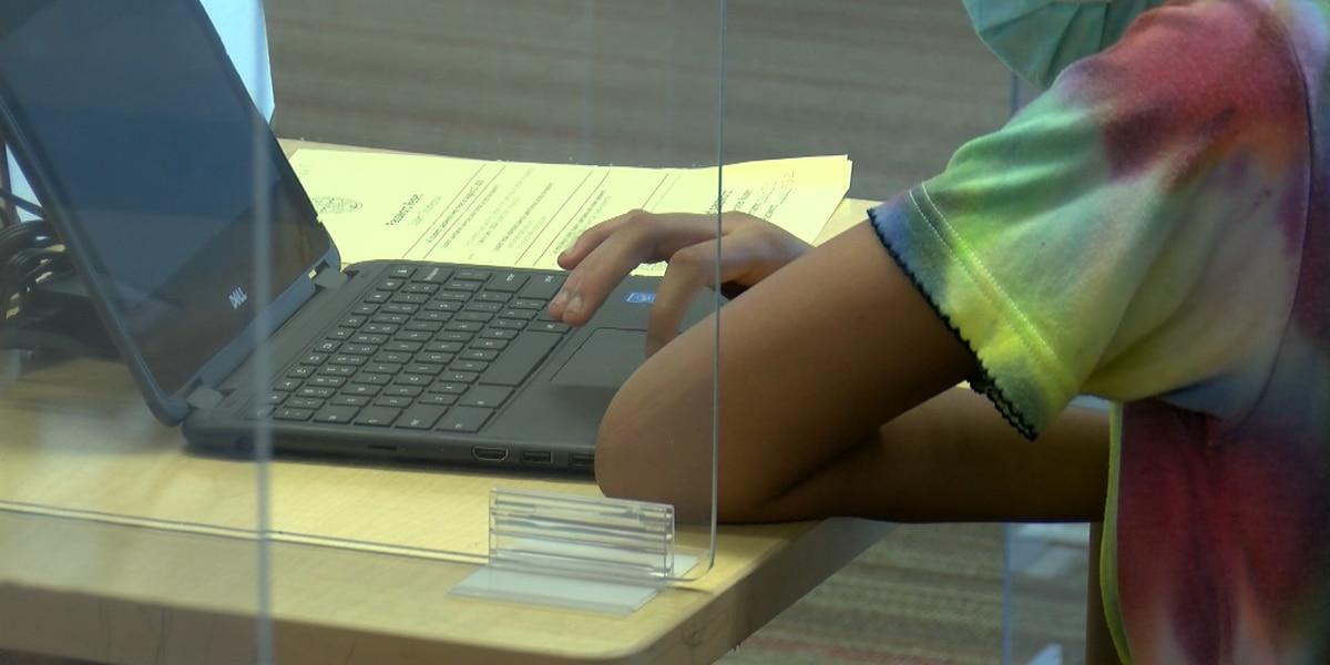 Some Cincinnati Public students return to classrooms