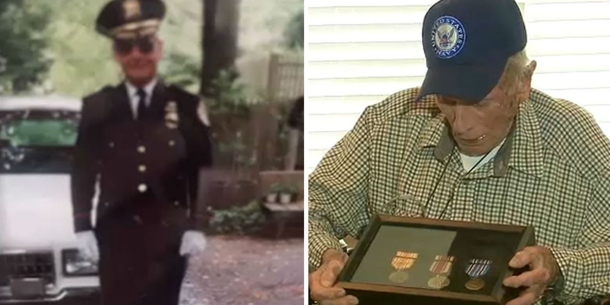 'It was an adventure': WWII vet gets medals 70 years later