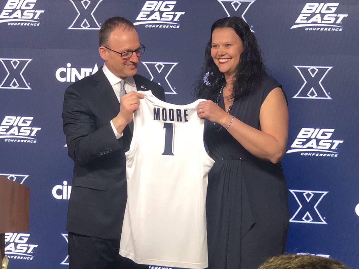 XU introduces new women's basketball coach