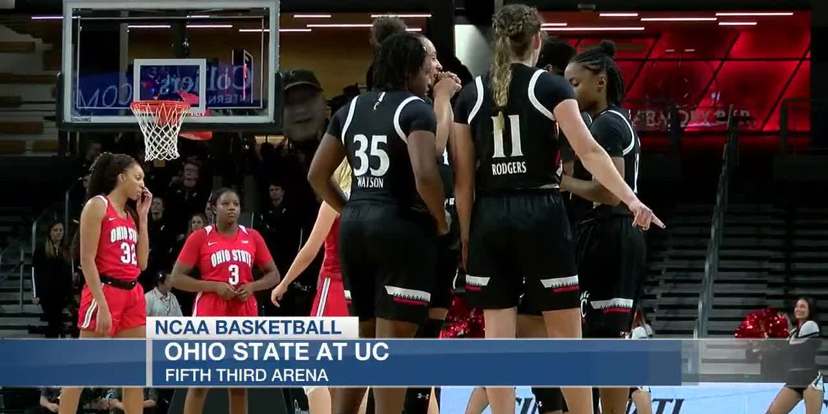 UC women come up short against Ohio State in OT
