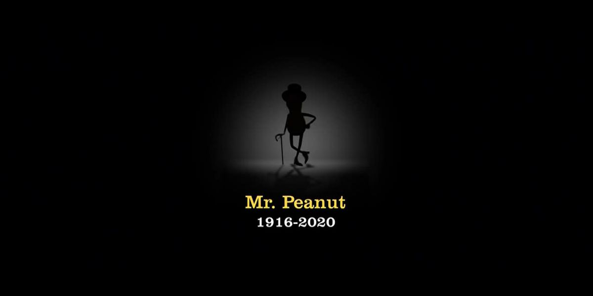 Planters kills off 104-year-old mascot, Mr. Peanut, in pre-Super Bowl ad