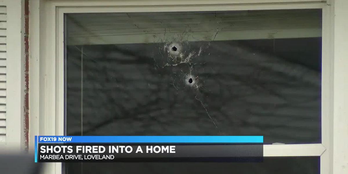 Shots fired into area home