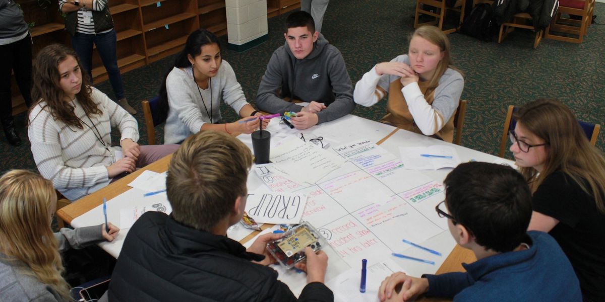 High school students working on 'Project Chaos' to educate parents on game day behavior