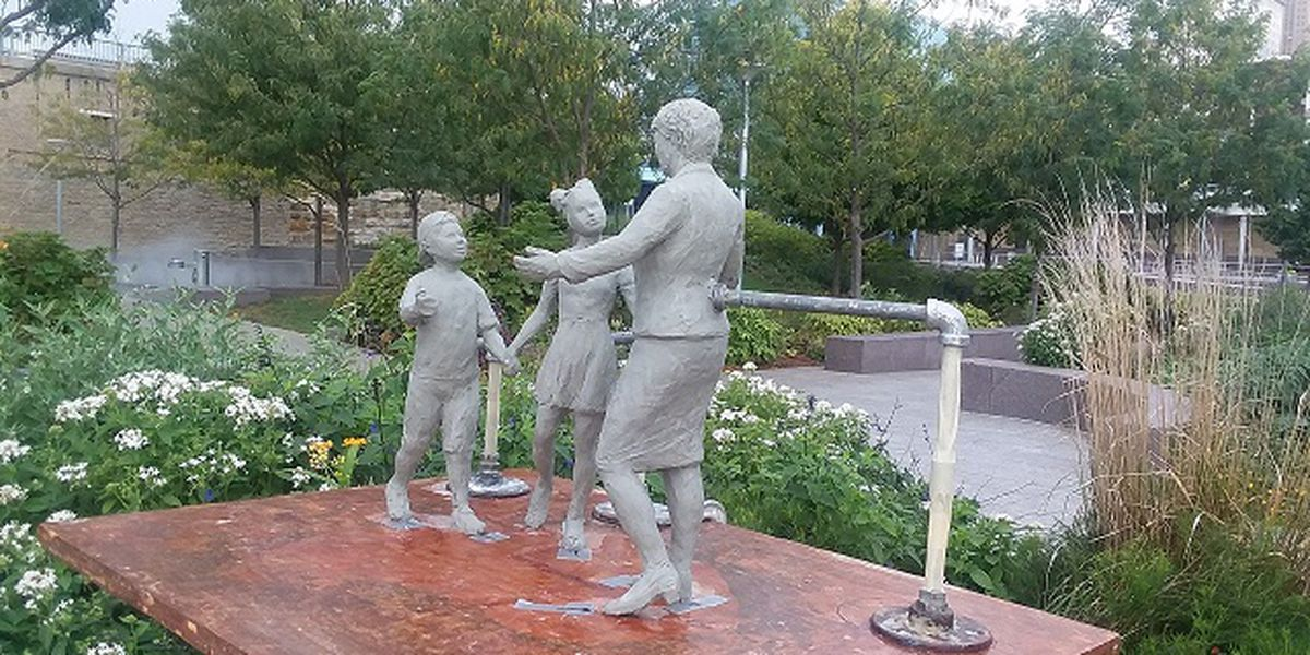 Local club, city leaders announce fundraising efforts to build statue honoring Marian Spencer