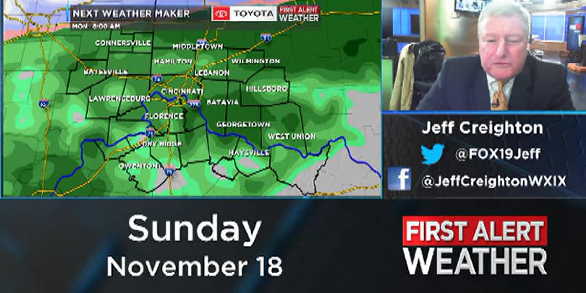 Jeff's Sunday Evening Forecast
