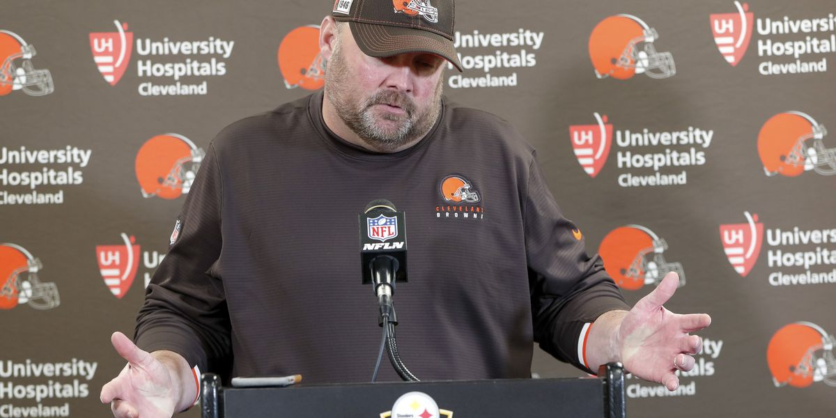 'I'd wear it again': Freddie Kitchens says 'Pittsburgh started it' T-shirt didn't cause the Browns loss